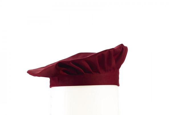 Barett-Mütze, bordeaux