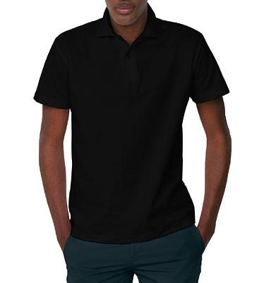Polo Safran / Unisex - schwarz