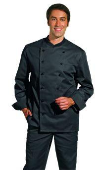 Leiber Kochjacke schwarz - Langarm
