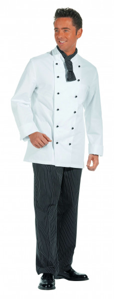 Kochjacke weiß - Langarm