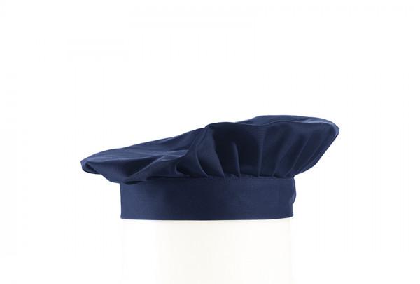 Leiber Barett-Mütze, marine