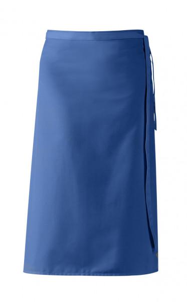"Bistroschürze ""De Luxe"", königsblau, ca 80 x 100 cm"