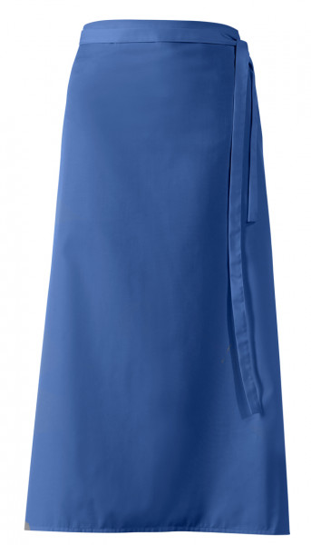"Bistroschürze ""De Luxe"", königsblau, ca 100 x 100 cm"