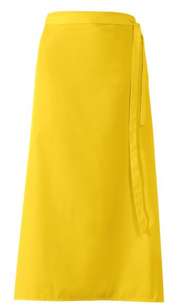 """Bistroschürze """"De Luxe"""", gelb, ca 100 x 100 cm"""