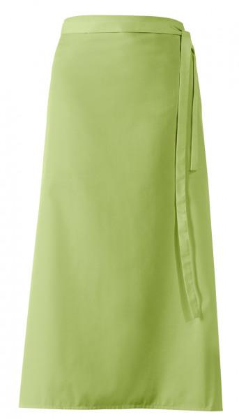 """Bistroschürze """"De Luxe"""", apfelgrün, ca 100 x 100 cm"""