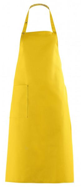 Latzschürze 100 x 75 cm, gelb