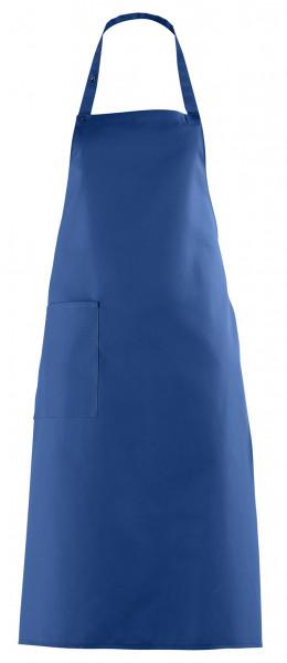 Latzschürze 100 x 75 cm, königsblau