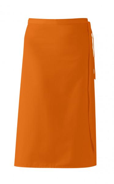 "Bistroschürze ""De Luxe"", orange, ca 80 x 100 cm"